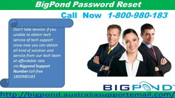 Reset Bigpond Password With The Assistance Of Team | 1-800-980-183
