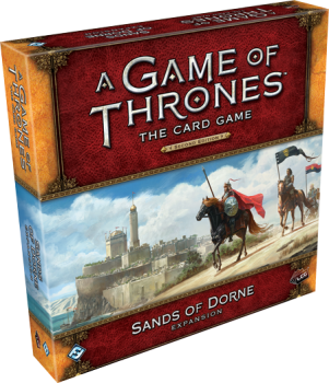 A GAME OF THRONES LCG 2ND EDITION SANDS