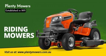 Ride on mowers Melbourne | Lawn Mower Sh