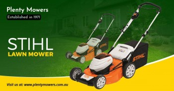 Lawn Mowers for sale in Melbourne – Plen