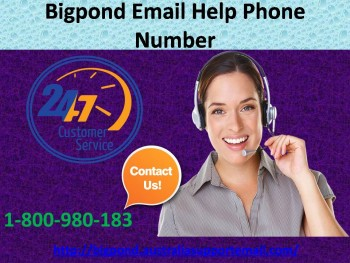Dial Bigpond Email Help Phone Number 1-800-980-183 To Fix Issues