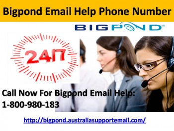 Dial Phone Number 1-800-980-183 For Bigpond Email Help