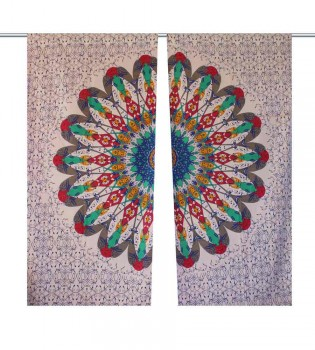 Classic Collection of Mandala Curtains f