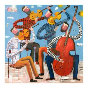 Kitti Narod String Quartet Art Prints