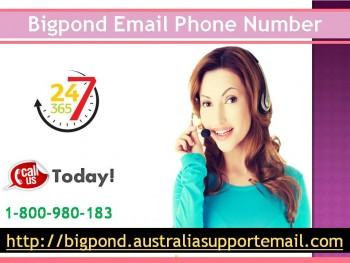 Improve Bigpond Security Via Support| Bigpond Email Phone Number | 1-800-980-183