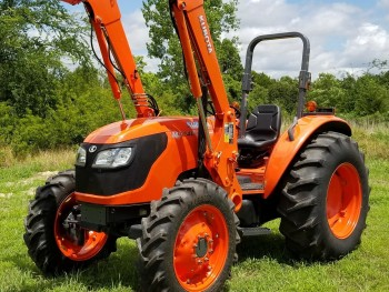 2007 KUBOTA M5040 4x4 loader tractor