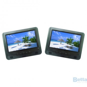 LENOXX IN CAR DVD PLAYER TWIN SCREENS 9I