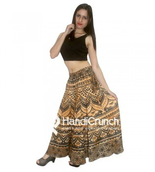 100% Cotton Made Women Rapron Skirts