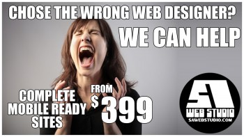 Web Design - Complete Website From $399