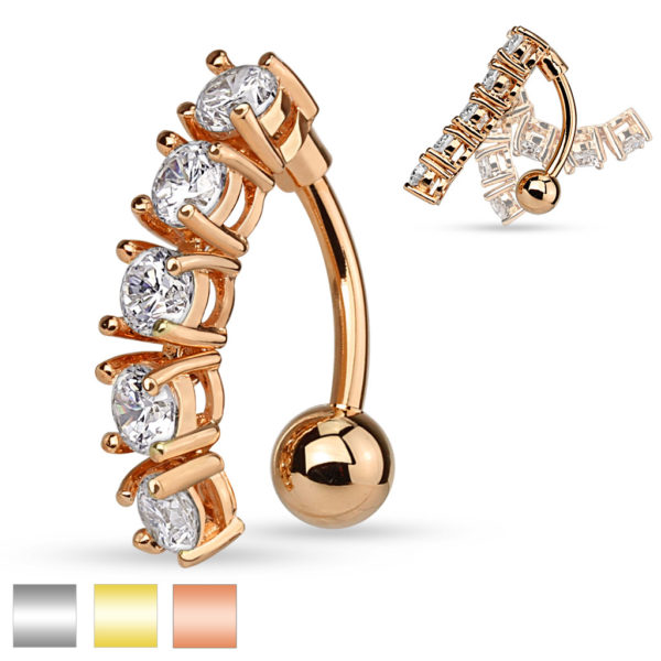 Belly Bars Piercing Jewelry