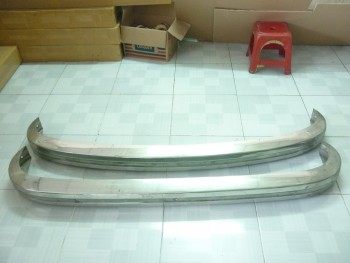 Volkswagen Type 3 Bumper 1970 - 1973 in Stainless steel