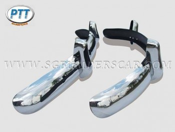 Volkswagen Beetle EU Bumper 1955-1967 in Stainless Steel