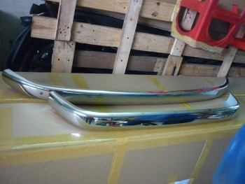 BMW Issetta Bumper in Stainless steel