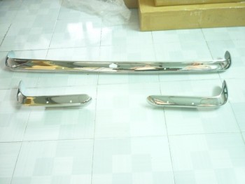 Ford Cabri Bumper in Stainless Steel