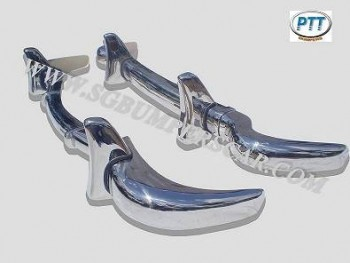 Mercedes 190SL Bumper 1955 - 1963 in Stainless steel