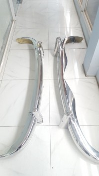 Mercedes 220A Bumper in Stainless steel