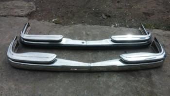 Mercedes W108/W109 Bumper in stainless steel
