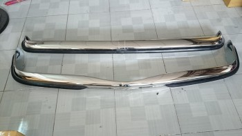 Mercedes W115/W114 Series 2 Short Rubber in Stainless steel
