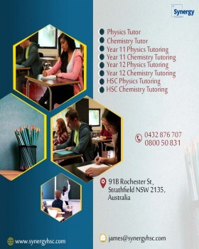Physics tutor near me | HSC Synergy Educ