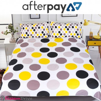 Dots Colorful Printed Bedding Set