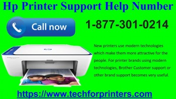 HP Printer Support Number 1 877 301 0214