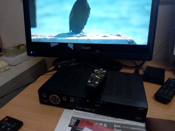 VAST Satellite TV Box