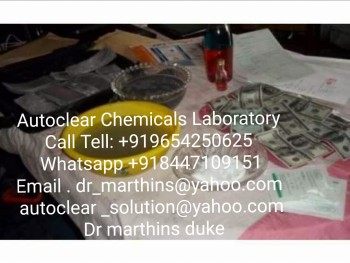 BLACK MONEY CLEANIN MACHINE AND CHEMICAL