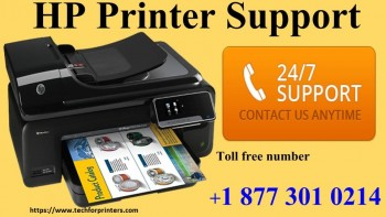 HP Printer Support +1 877 301 0214