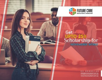 Scholarships Up to 25% for Onshore Inter
