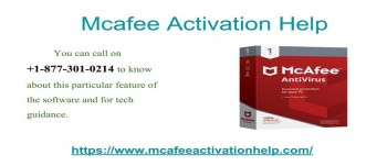 Update Your McAfee Using +1-877-301-0214 Activation Help