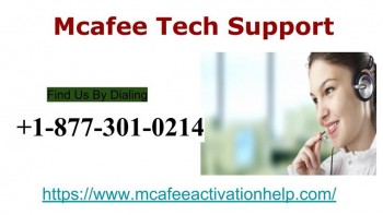 Technical Assistance | McAfee +1-877-301-0214 Support Number USA