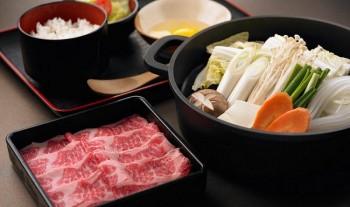 Kobe Wagyu Beef at Japanese Restaurant
