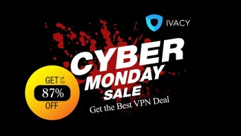 £80 · GET IVACY VPN CYBER MONDAY 5 – YEA
