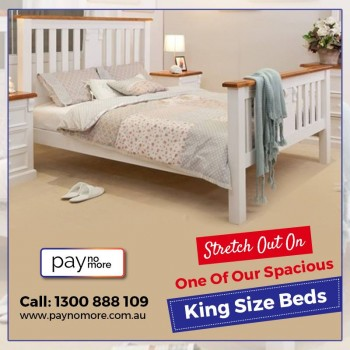 Buy Interest-Free Beds and furnish your