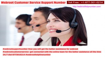 Webroot Support Number 8773010214