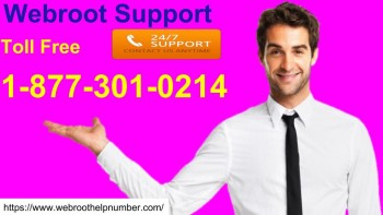 Webroot Support  +1-877-301-0214