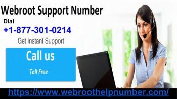 Webroot Support Number +1-877-301-0214 I