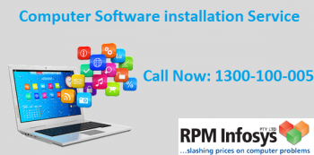 Get Computer Software Installation Service from the Experts