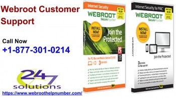 Webroot Customer Support +1-877-301-0214
