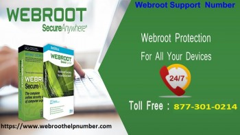 Webroot Support Number +1-877-301-0214