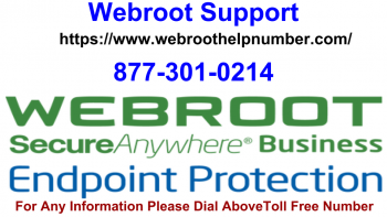 Webroot Support Toll Free 8773010214