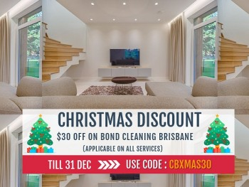 Best Christmas Discount Offer On Cheap Bond Cleaning Brisbane