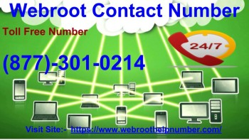 Webroot Contact Number +1-877-301-0214