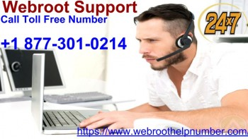 Call +1-877-301-0214 For Webroot Support