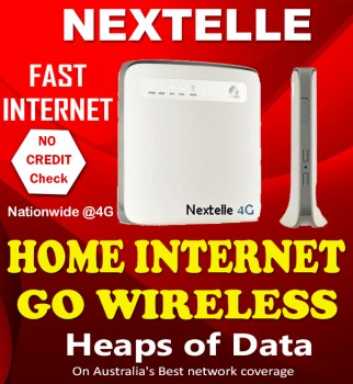 Free modem with Nextelle Home Internet