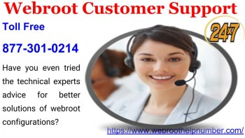 Webroot Customer Support +1 877 301 0214
