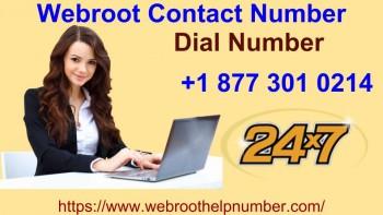 Webroot Contact Number +1 877 301 0214