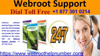 Webroot Support With USA No. 8773010214